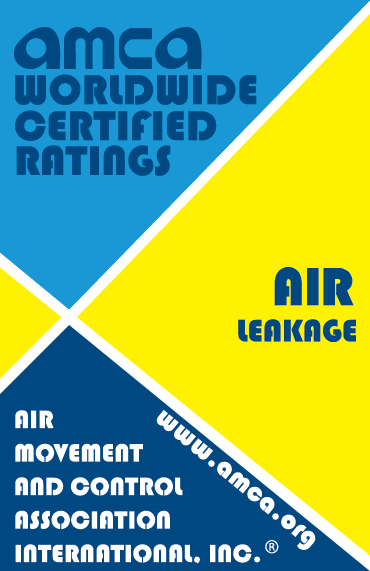 AMCA Seal for Air Leakage