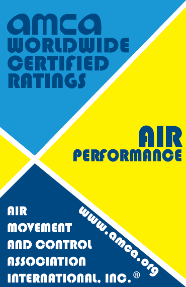 AMCA Seal for Air Performance