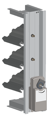 Electric actuators have an electric motor to drive blade rotation.