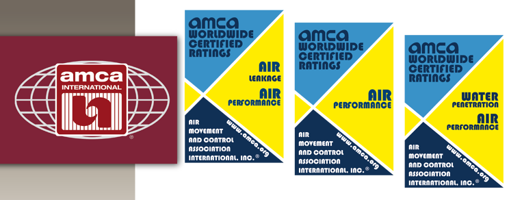 AMCA Seals signify that the product has been tested in accordance with AMCA's standards.
