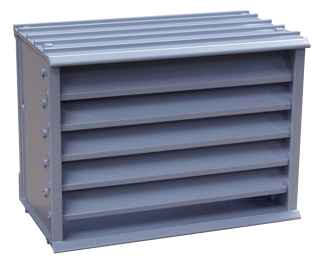 Brick vents are small louvers designed specifically for mounting in brick walls.