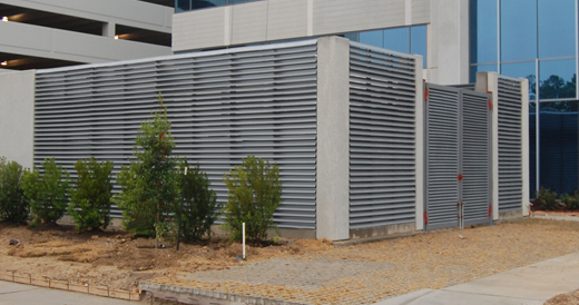 Conceal private areas with vision screens. They are versatile louvers!