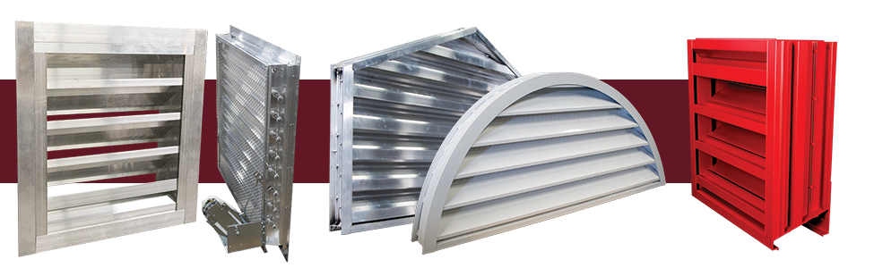 You have options for louvers: custom shapes, finishes, add-on parts; for form and function!