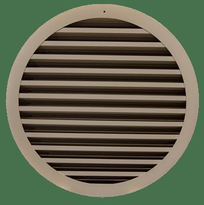 A circular louver
