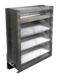 A louver designed for air performance