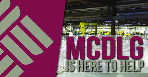 MCDLG is here to help! Work with us on your next project.