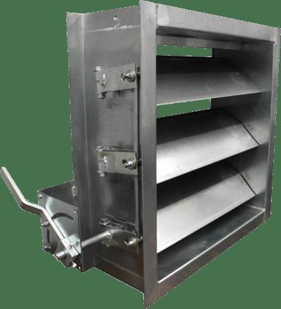530-531 Airfoil Industrial Damper