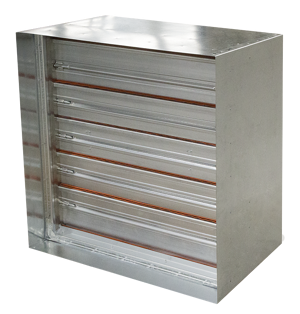 Combination fire-smoke dampers are designed to withstand both elements of a fire: the flames and the noxious fumes.